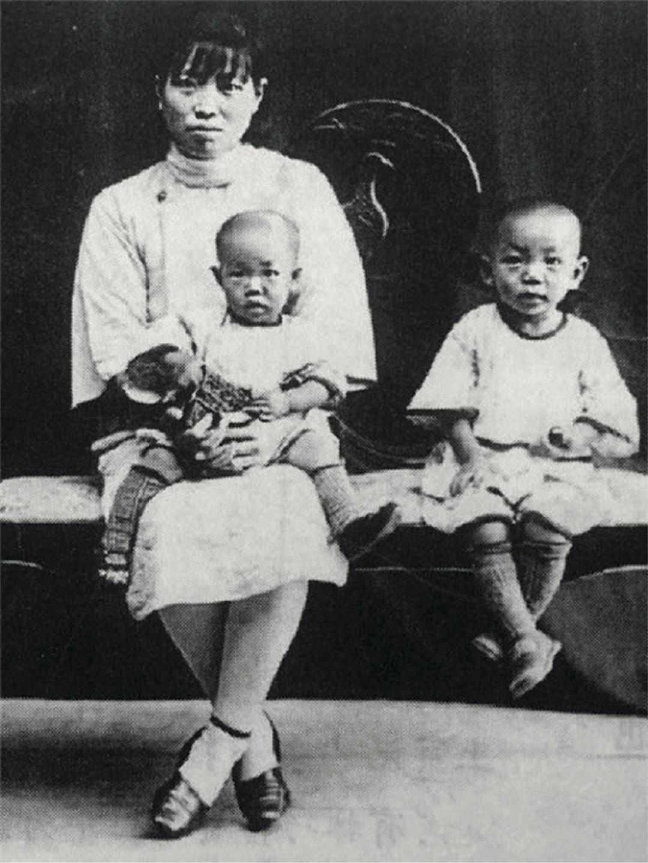 幼时的袁隆平