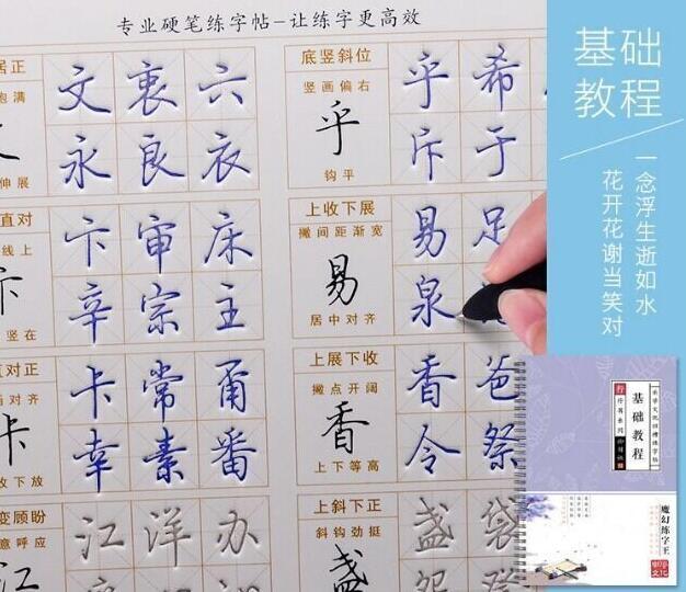 练字基础教程