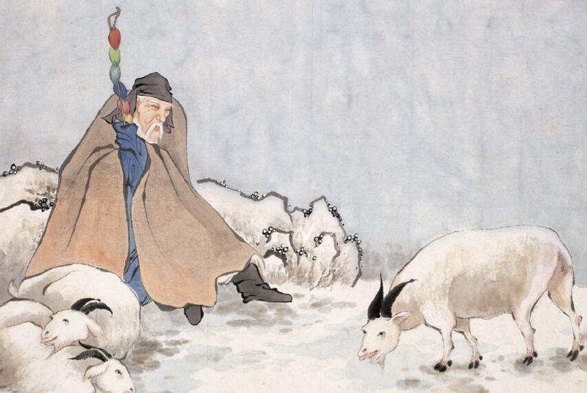 孟晚舟-苏武牧羊的故事